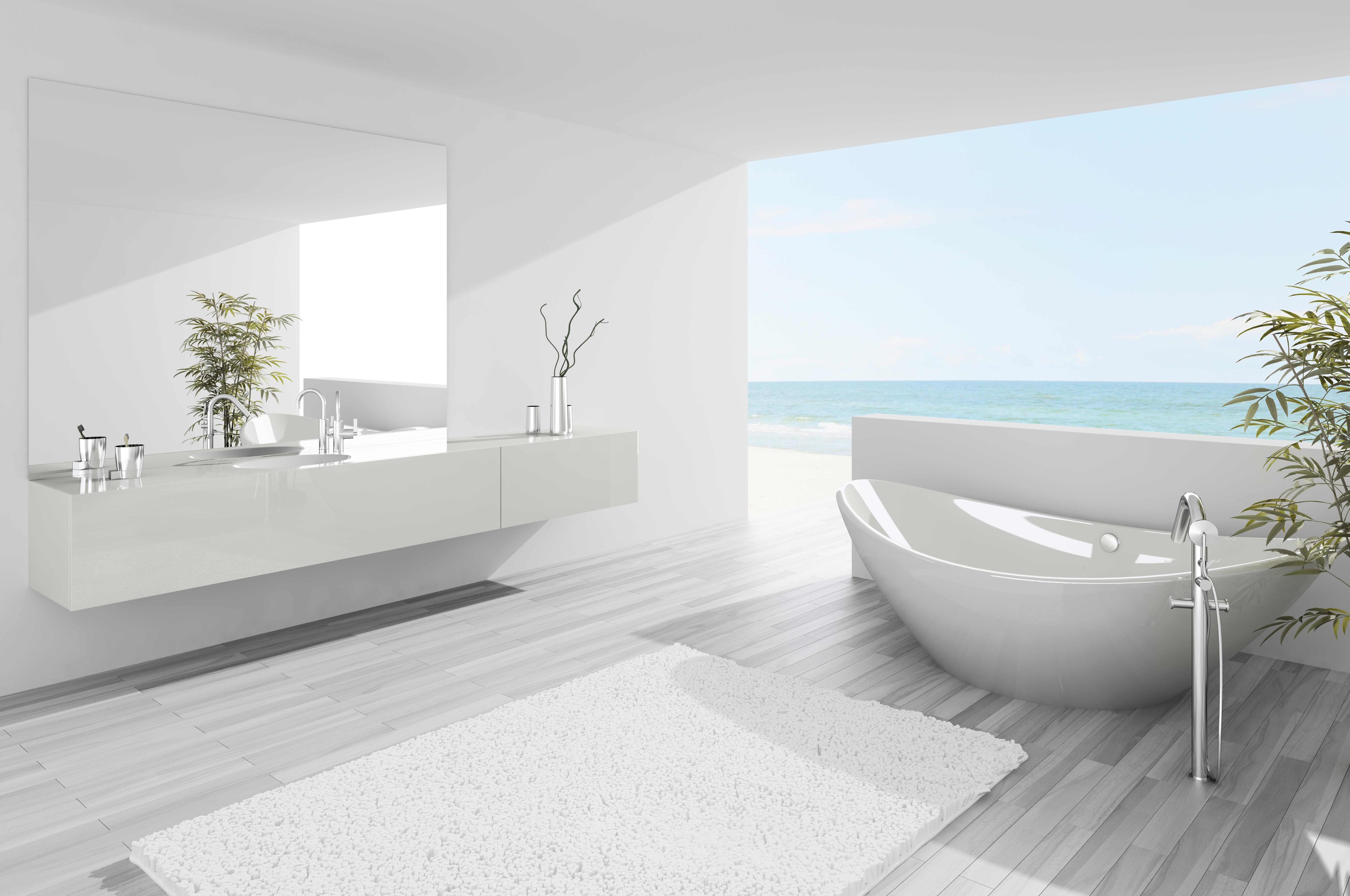 Moderne Witte Badkamer : Mooi moderne badkamer badkamermeubels ontwerpen 2017