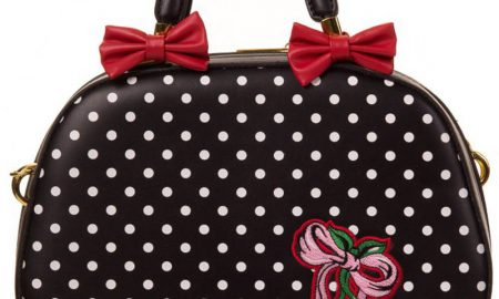 Banned Sweet Rockabilly Purse Black