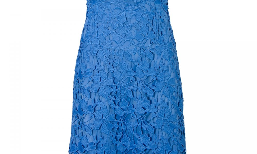 Ongebruikt Steps Kanten jurk met V-hals Blauw Steps SQ-24