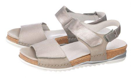 Sandaaltje Waldläufer zilverkleur/grijs