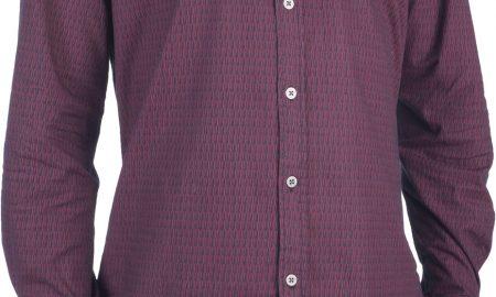 Shirt chambray printed