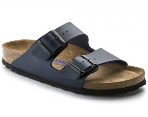 Arizona Birko-Flor Soft footbed Blue