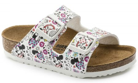 Arizona Kids Birko-Flor Lovely Minnie White
