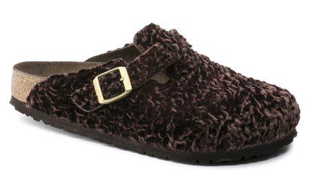 Boston Suède/textiel Soft footbed Persian Brown