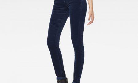 3301 Mid Waist Skinny Pants