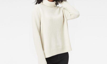Leya Turtle Knit