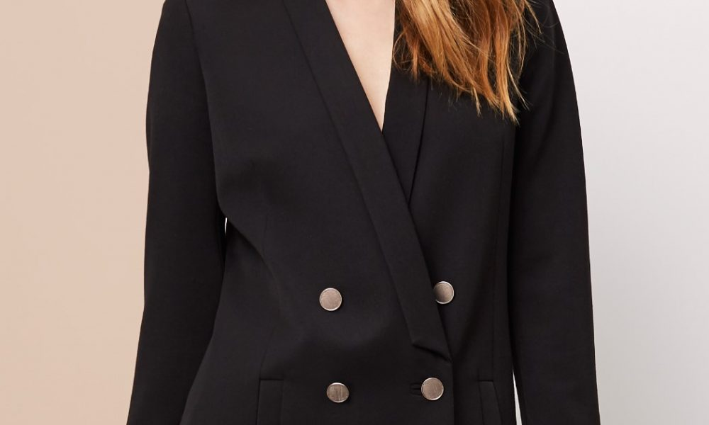 Supertrash The Double Breasted Blazer The Essentials Black