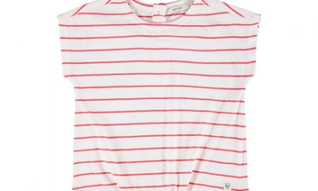 Katoenen T-shirt knoop Sissy-Boy