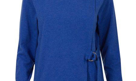 Asymmetrische sweater Blauw Steps