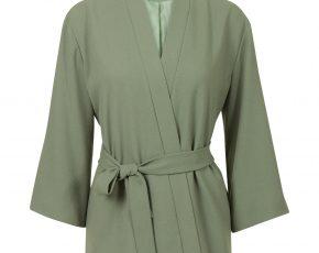 Kimonojasje met ceintuur Groen Steps