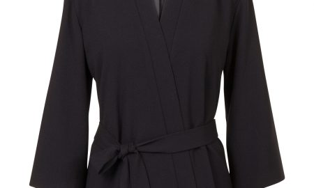 Kimonojasje met ceintuur Zwart Steps