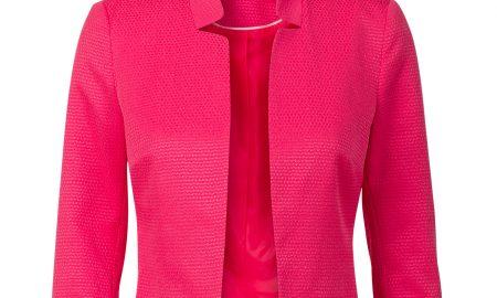 Kort jasje met driekwart mouw Roze Steps