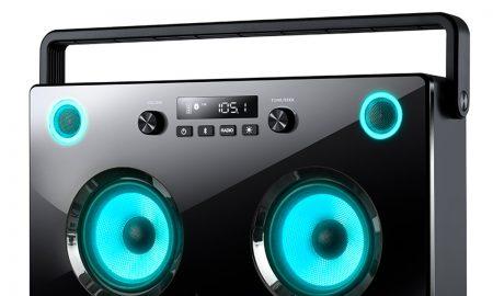 Spectraboom Boombox met Bluetooth
