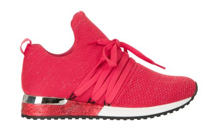 Statementsneakers Rood Steps