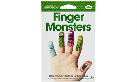 Vinger Tattoos Monsters (20 stuks) Sissy-Boy