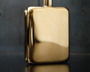 Gouden flacon