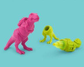 T-Rex markeerstift - Pink